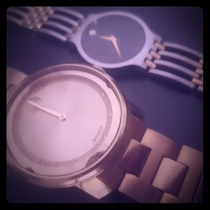 His & Hers Movado Wristwatches